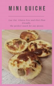 Mini Quiches - Slimming World friendly and gluten free. The prefect lunchtime snack!