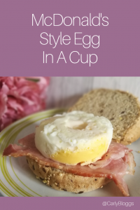 Egg in a cup pin