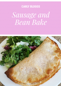 Greggs Style Sausage & Bean Bake -