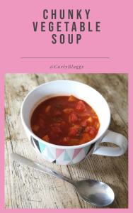 Chunky Vegetable Soup Pin
