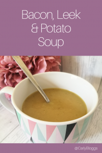 Bacon, leek & potato soup recipe