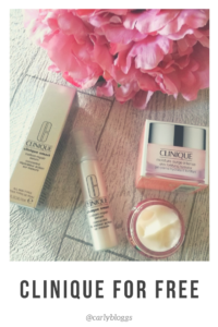 Clinique For Free - find out how I got a whole hoard of Clinique skincare and makeup for free!