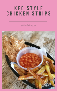 KFC Style Chicken Strips - Diet Plan friendly and gluten free! #SlimmingWorld