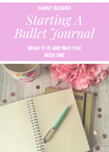 Starting a Bullet Journal - What it is and why you need one