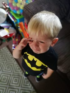 The Toddler Years - The common reaction to being told no