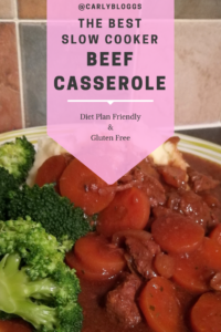 The Best Slow Cooker Beef Casserole