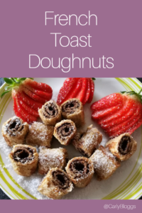 French Toast Doughnuts - Diet plan friendly and can be made gluten free!