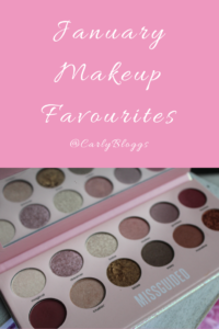January Makeup Favourites