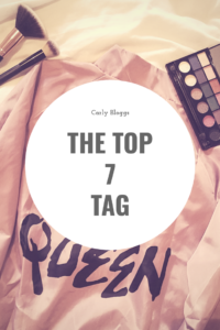 Top 7 Tag - The best of 2018 and things to come.