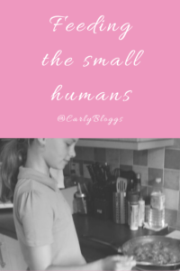 Feeding The Small Humans - Including children in cooking their own food.