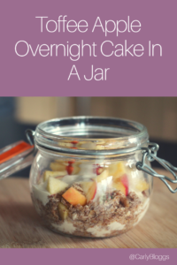 Overnight Cake In A Jar - Fancy something different to overnight oats? Try this instead. #slimmingworld #healthy #diet #recipe