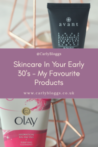 My favourite skincare products for early 30's skin