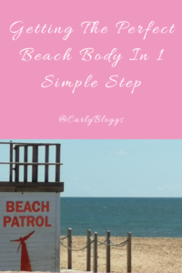 Getting the perfect beach body in one simple step - No diet or exercise required!