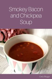Smokey Bacon and Chickpea Soup