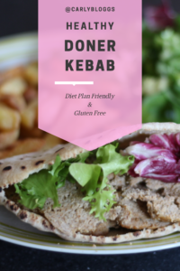 Healthy Doner Kebab Recipe - Yes you read that right! Syn free on Slimming World, Gluten Free and oh so tasty!