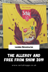 The Allergy and Free From Show 2019 - My thoughts on the show and the goodies I got!