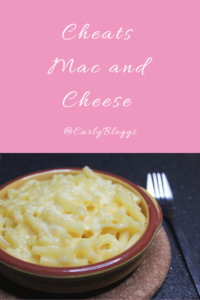 Cheats Mac and Cheese - Quick, Easy and super tasty using a ready made cheese sauce from Ciao Gusto. #EasyRecipe