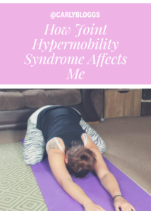 How Hypermobility Syndrome affects me - Find out more about Hypermobility Syndrome