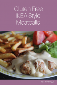 Gluten Free IKEA Style Meatballs - These can be made to suit dietary requirements or non at all! Slimming World friendly (syns for flour) and super tasty recipe